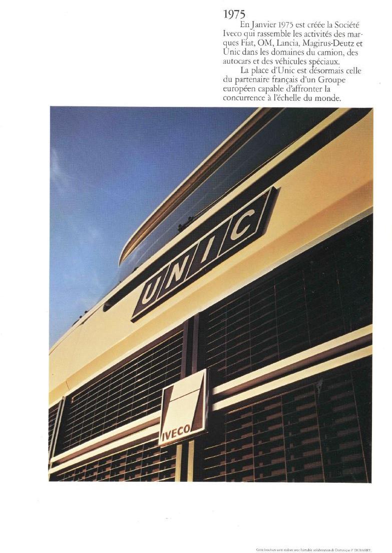 Pub et catalogues UNIC - IVECO 17174