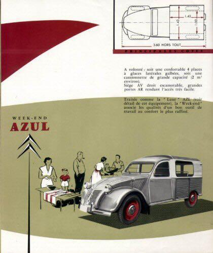 la 2CV AZUL 19111