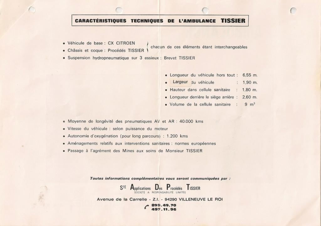 """Des Citroën hors normes : les """"Tissier"""" - Page 2 1980"""