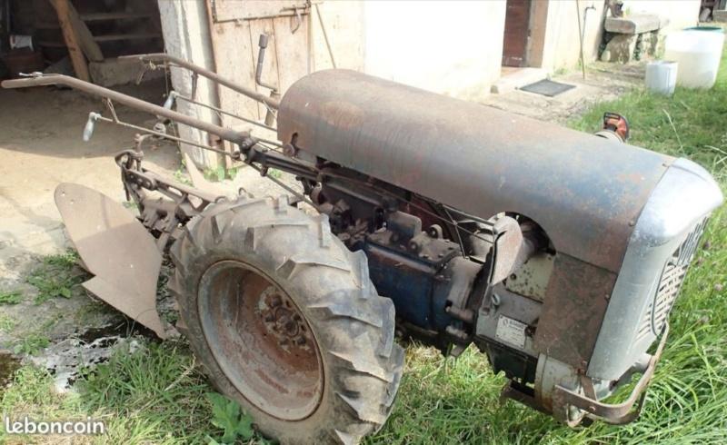 energic - Motoculteur SOBERFON 107 B +Tracteur ENERGIC 511 à vendre 1_088
