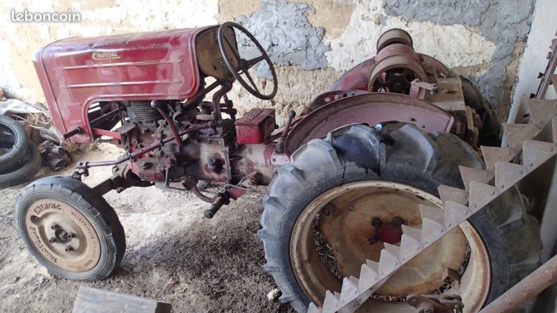 energic - Motoculteur SOBERFON 107 B +Tracteur ENERGIC 511 à vendre 1_089