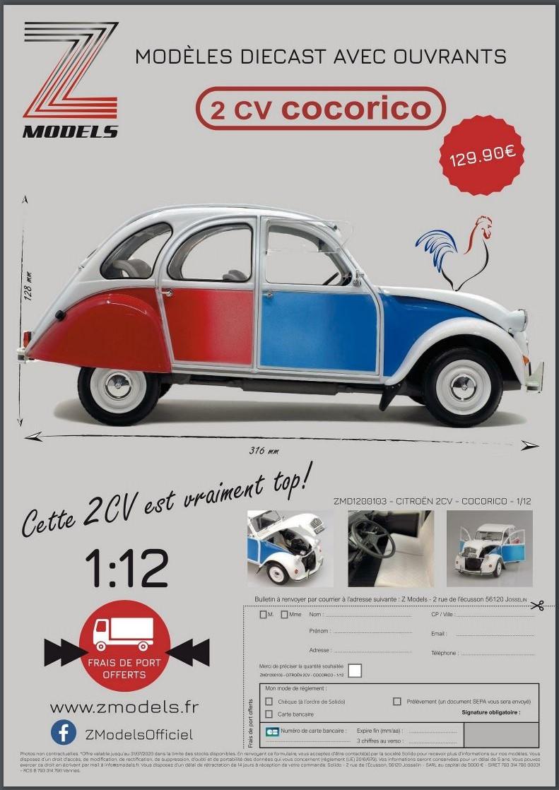 1/12ème: Z MODELS  Citroën 2CV COCORICO 1_0912