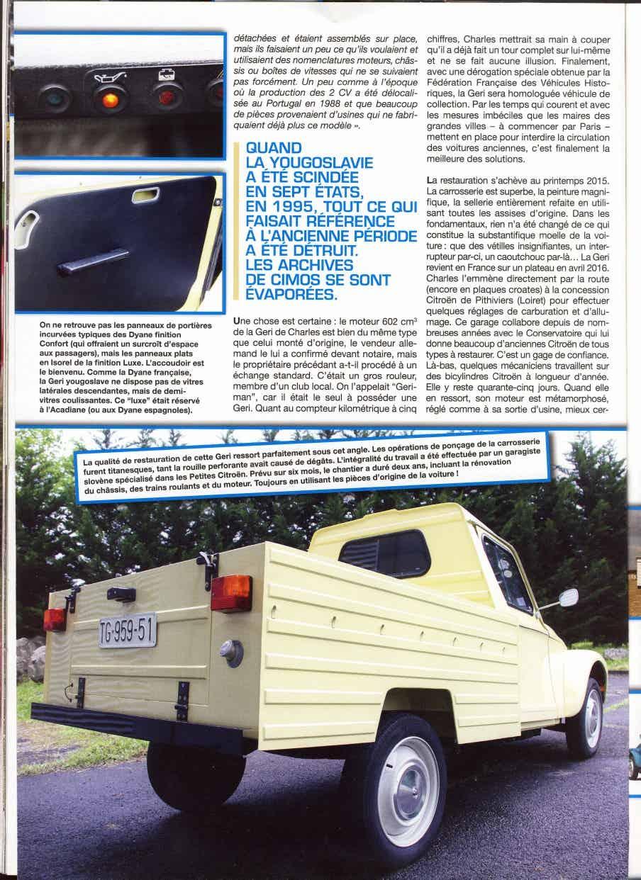 CIMOS GERI: une Dyane Pick-up de Slovénie 1_1118