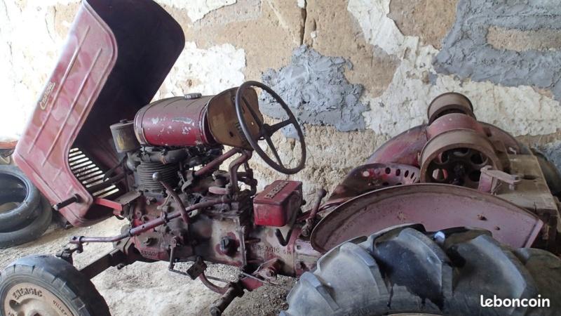energic - Motoculteur SOBERFON 107 B +Tracteur ENERGIC 511 à vendre 1_1135