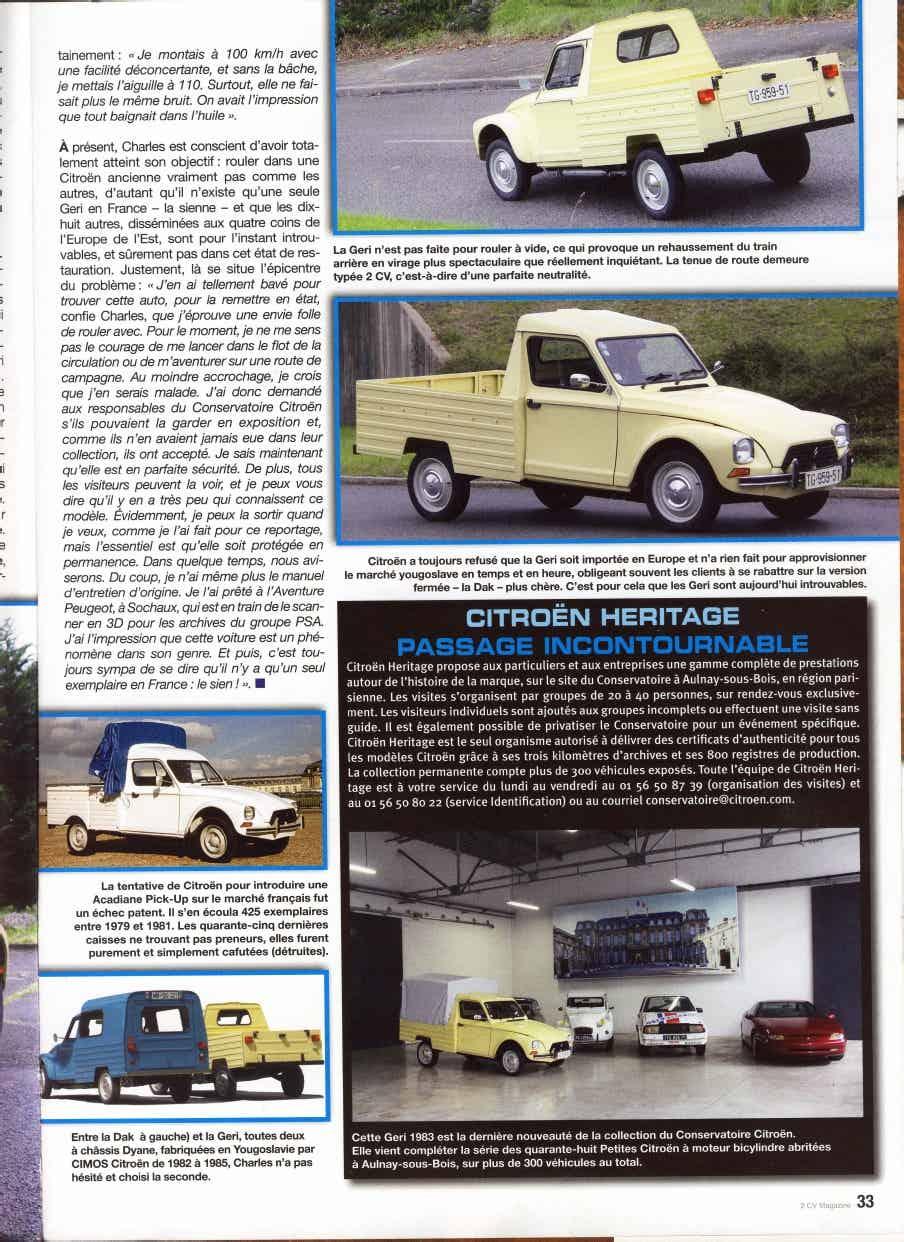 CIMOS GERI: une Dyane Pick-up de Slovénie 1_1217