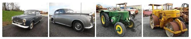 Vente aux enchères dans la Manche :voitures de collection, tracteurs anciens, engins agricoles et TP 1_1918