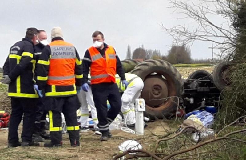 TRACTEUR - encore un accident cette fois de tracteur 1_2331
