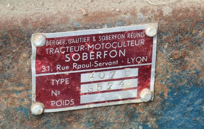 energic - Motoculteur SOBERFON 107 B +Tracteur ENERGIC 511 à vendre 1_280
