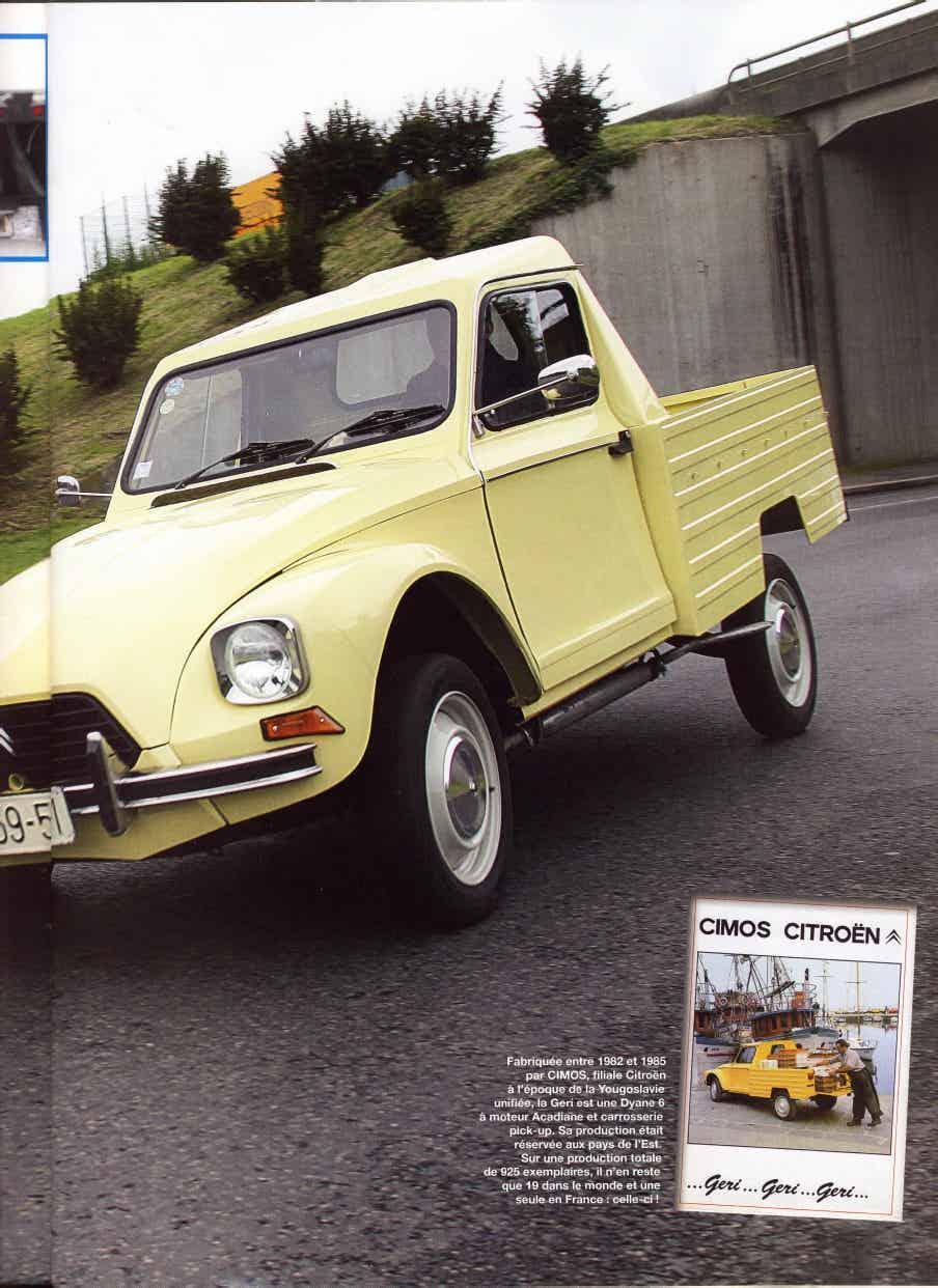 CIMOS GERI: une Dyane Pick-up de Slovénie 1_450
