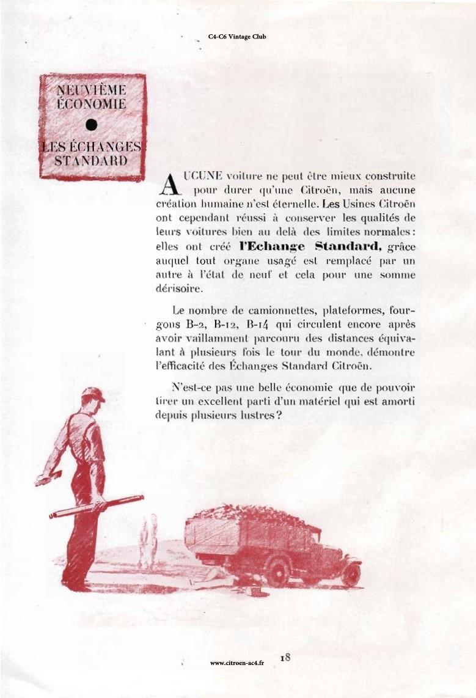 Réclame CAMIONS CITROËN Février 1931 2130