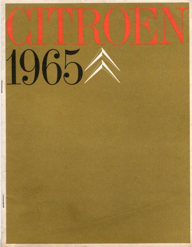 Brochure publicitaire de la gamme des utilitaires de 1965 22104