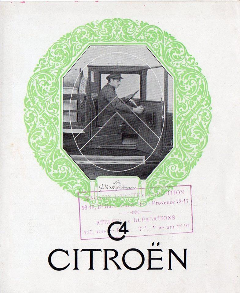 Brochure publicitaire de la gamme C4  (1000 kg) en 1929 2364