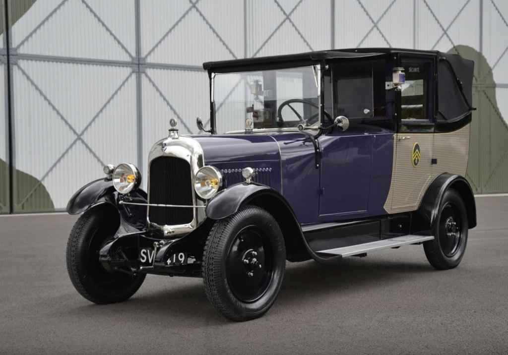 une B12 TAXI de 1926 à vendre sur PreWarCar 2816
