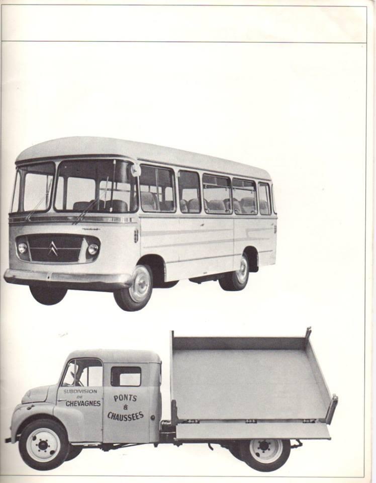 Brochure publicitaire de la gamme des utilitaires de 1965 2841