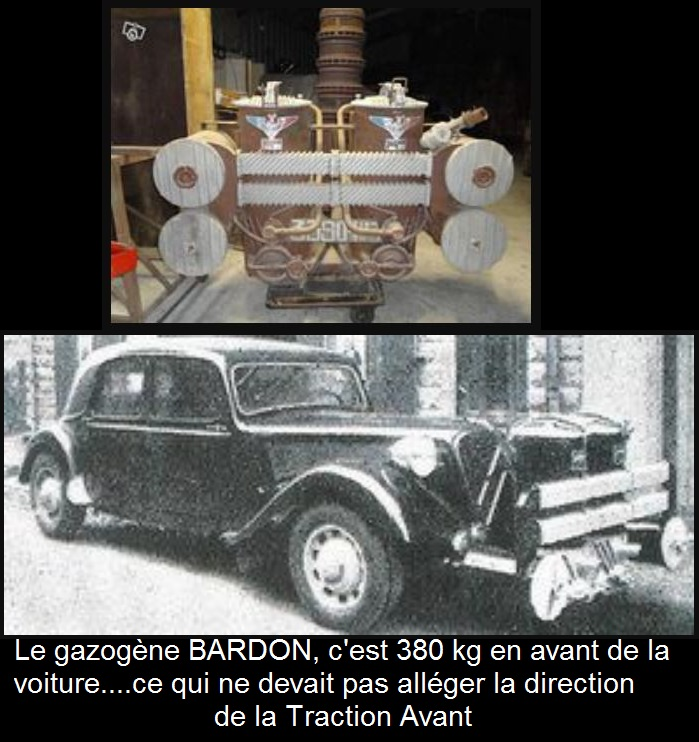 citroën U23 à gazogène BARDON 2992