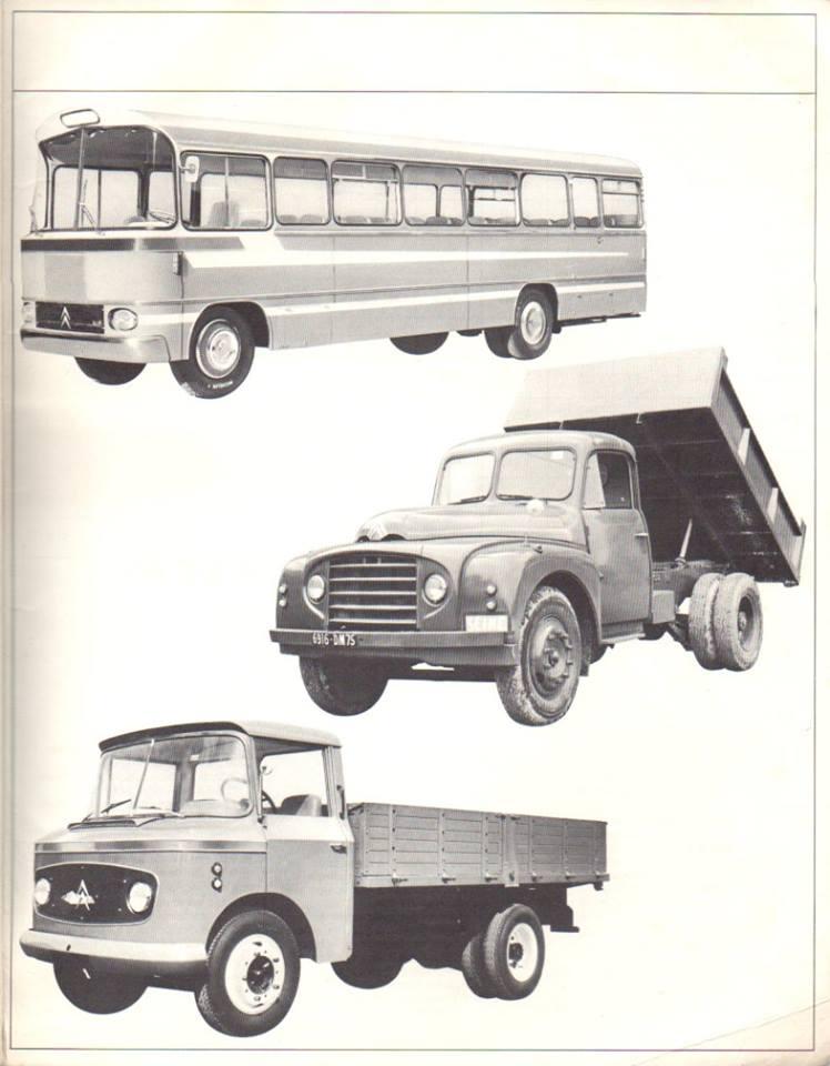 Brochure publicitaire de la gamme des utilitaires de 1965 3026