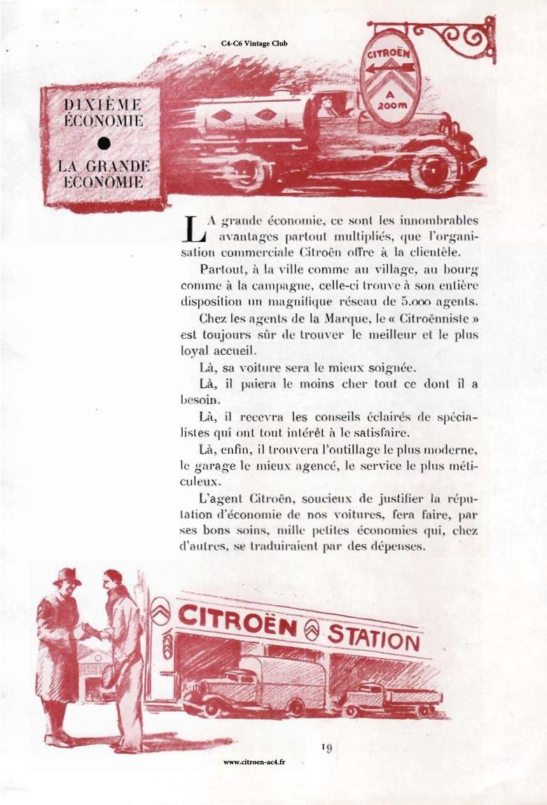 Réclame CAMIONS CITROËN Février 1931 3110
