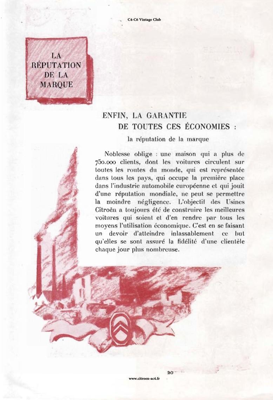 Réclame CAMIONS CITROËN Février 1931 3210