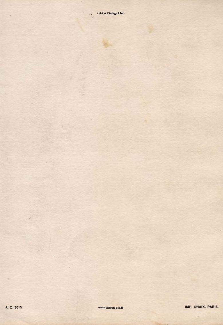 Réclame CAMIONS CITROËN Février 1931 3310