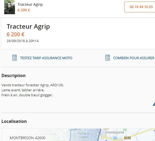Les AGRIP en vente sur LBC, Agriaffaires ou autres - Page 5 3316