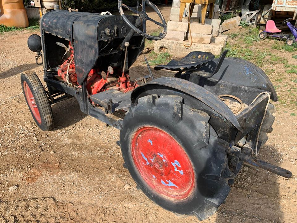 tracteurs agricoles artisanaux sur base CITROËN 34104