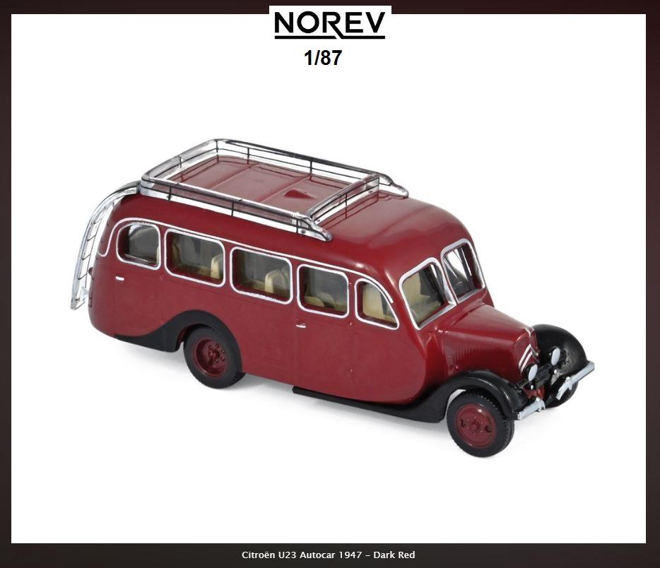 Autocars CITROËN au 1/87 chez NOREV 35111