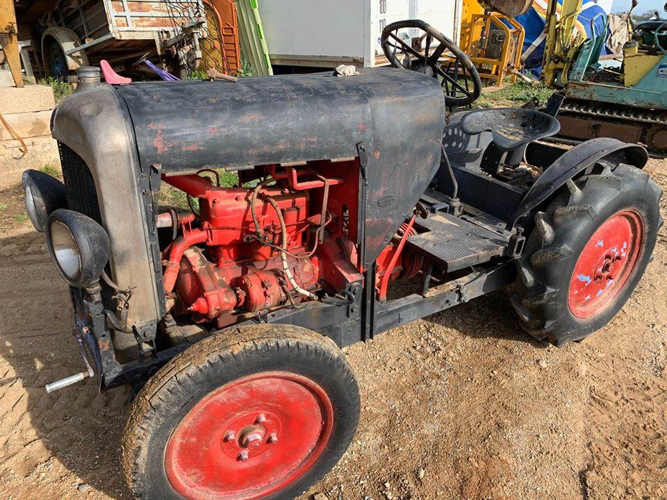 tracteurs agricoles artisanaux sur base CITROËN 3589