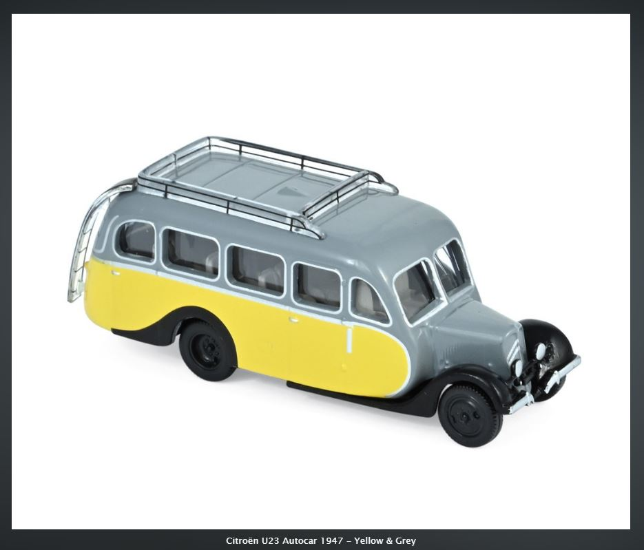 Autocars CITROËN au 1/87 chez NOREV 36_211