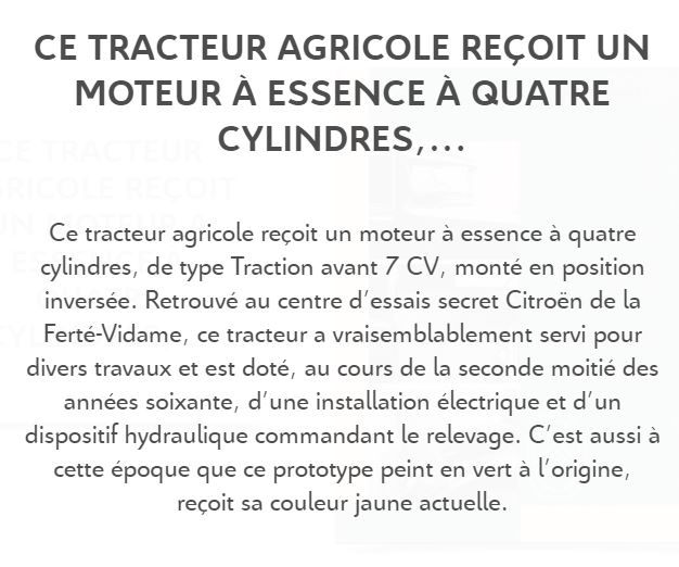 tracteur CITROËN 3_931