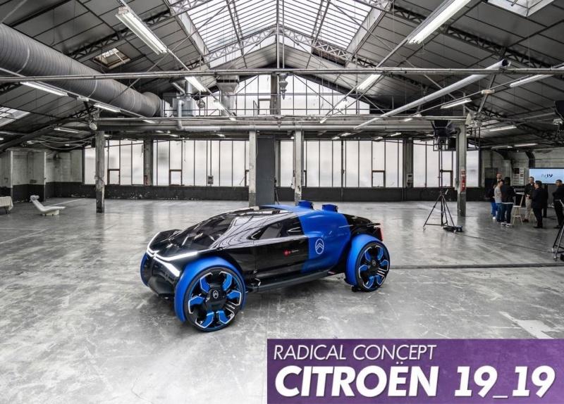 CITROËN, un deuxième prototype en 2019, le 19_19  4_212