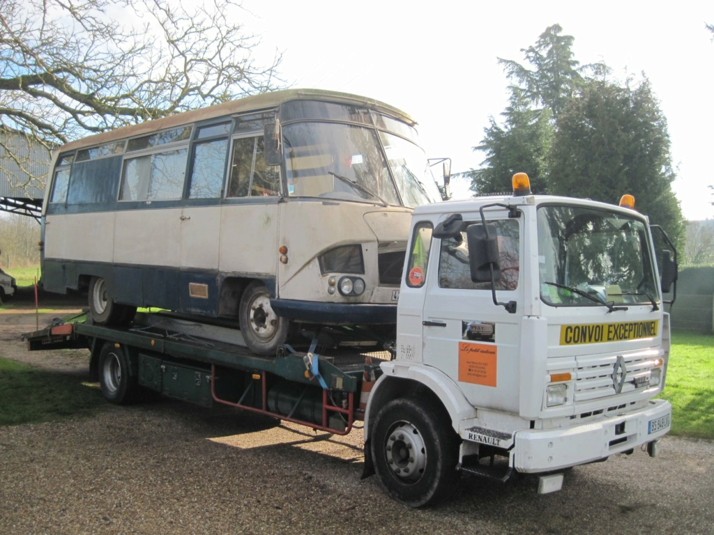 Autocar HEULIEZ sur base Belphegor 5592