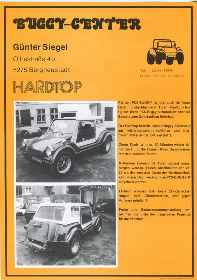 Autoworld - 50 Years Buggy, a Belgian Story ! - Page 3 6313