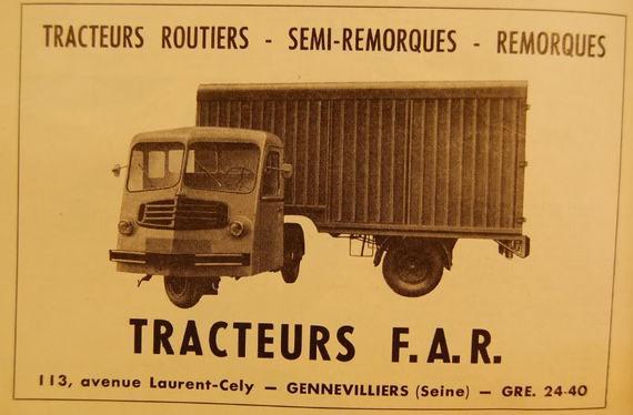 Le Tracteur FAR (le Cheval Mécanique) - Page 2 654