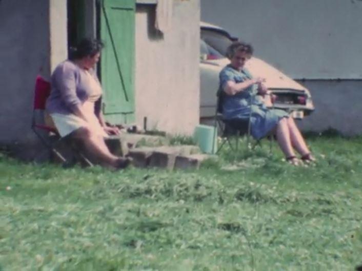 des CITROËN dans un film perso des années 70 7106
