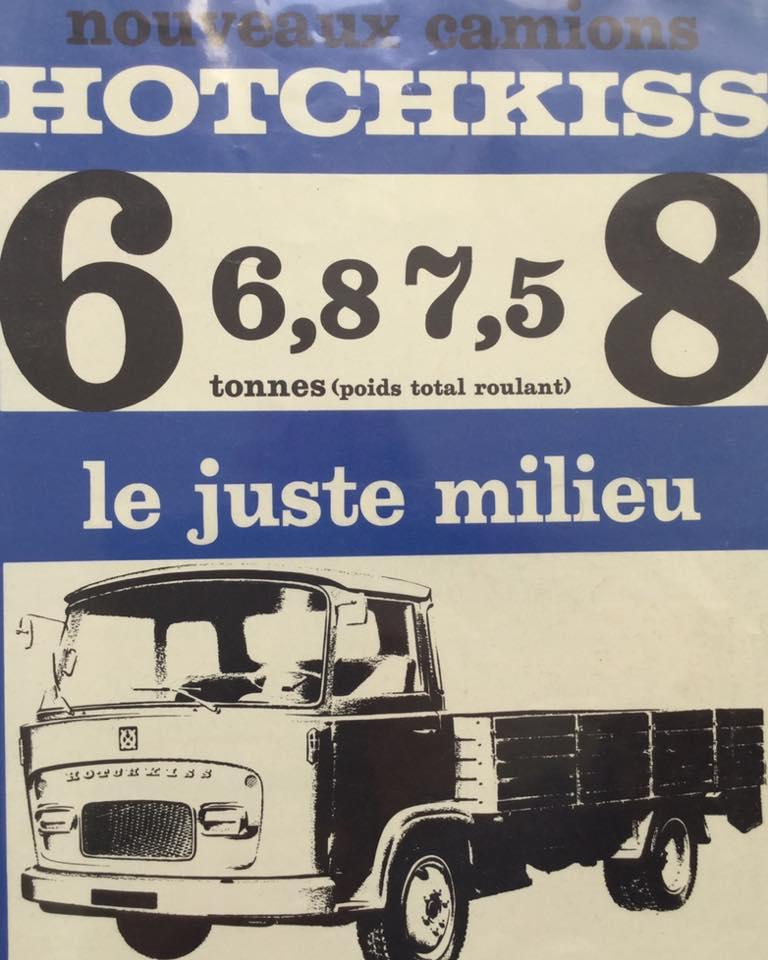 Pub , catalogues et livres sur HOTCHKISS 7302