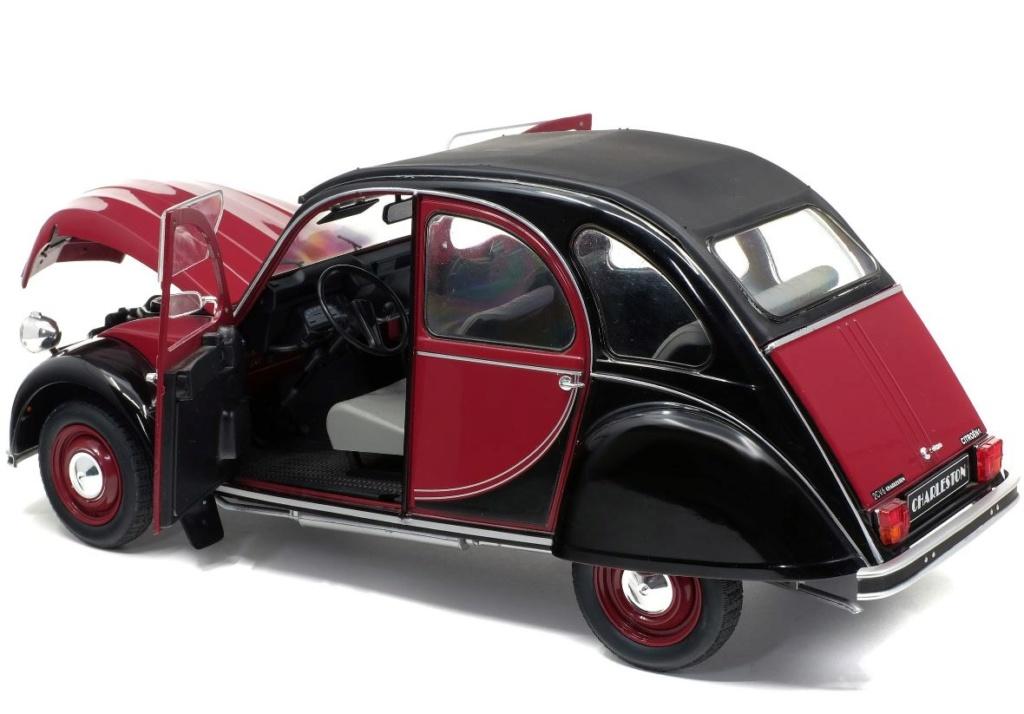 1/12ème: Z MODELS  Citroën 2CV COCORICO 8306
