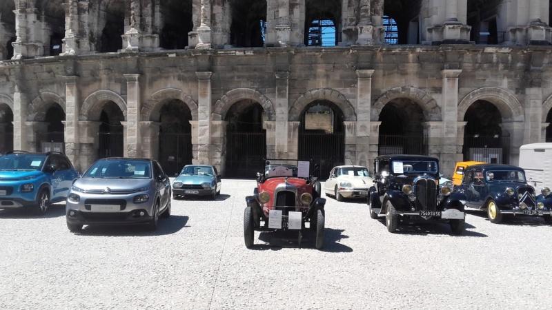 le Centenaire CITROËN à la Concession de Nîmes 8341