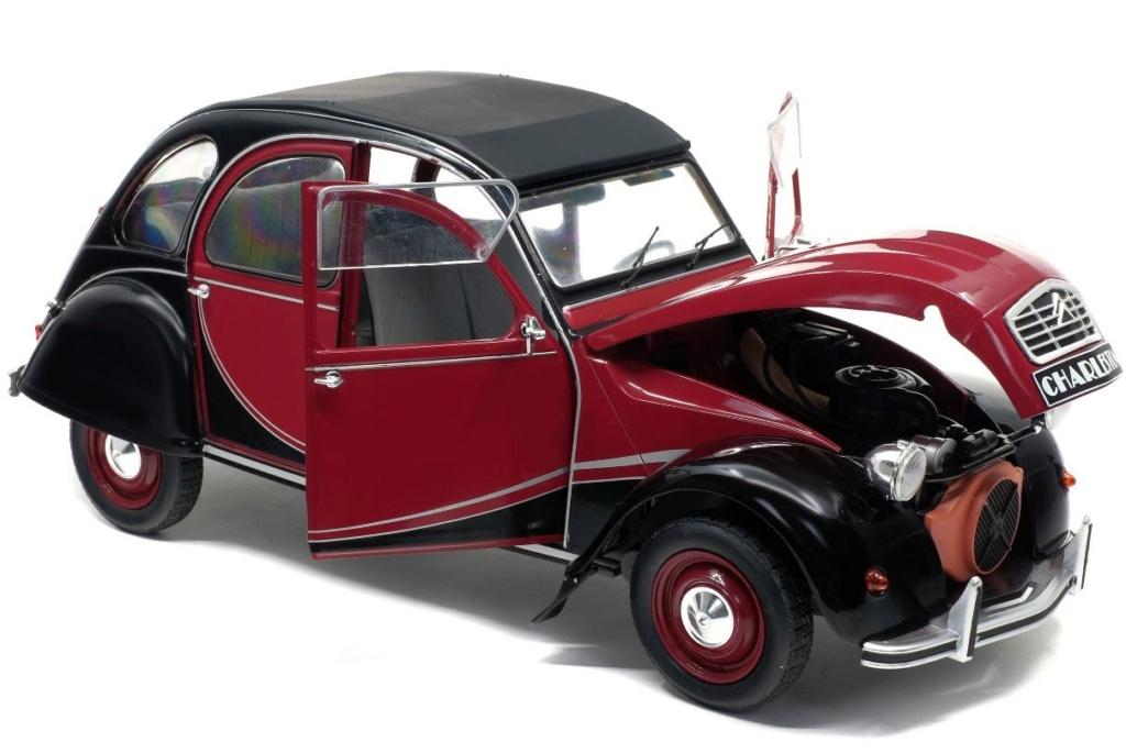 1/12ème: Z MODELS  Citroën 2CV COCORICO 9282