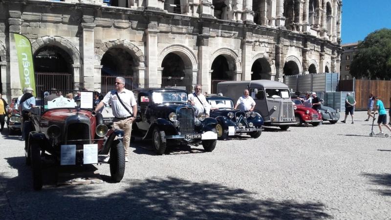 le Centenaire CITROËN à la Concession de Nîmes 9313