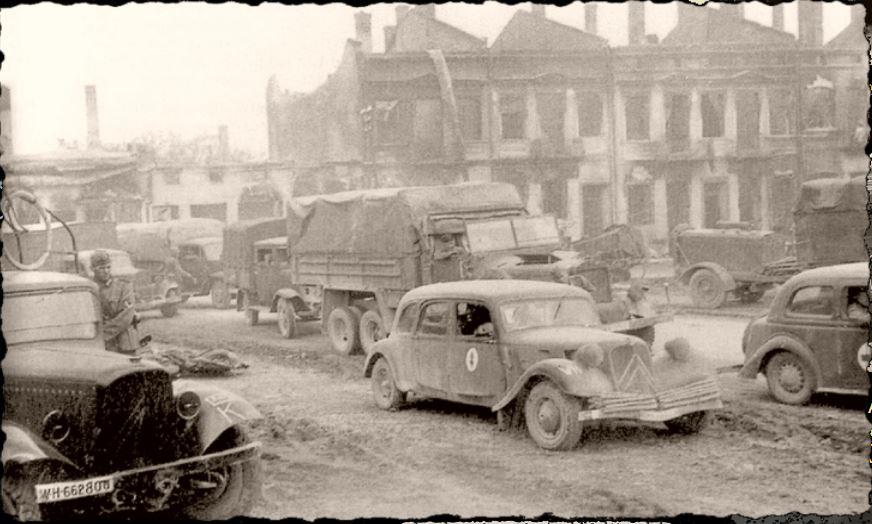 Camions CITROËN dans la Wehrmacht 946