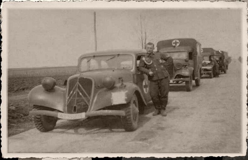 Camions CITROËN dans la Wehrmacht 947