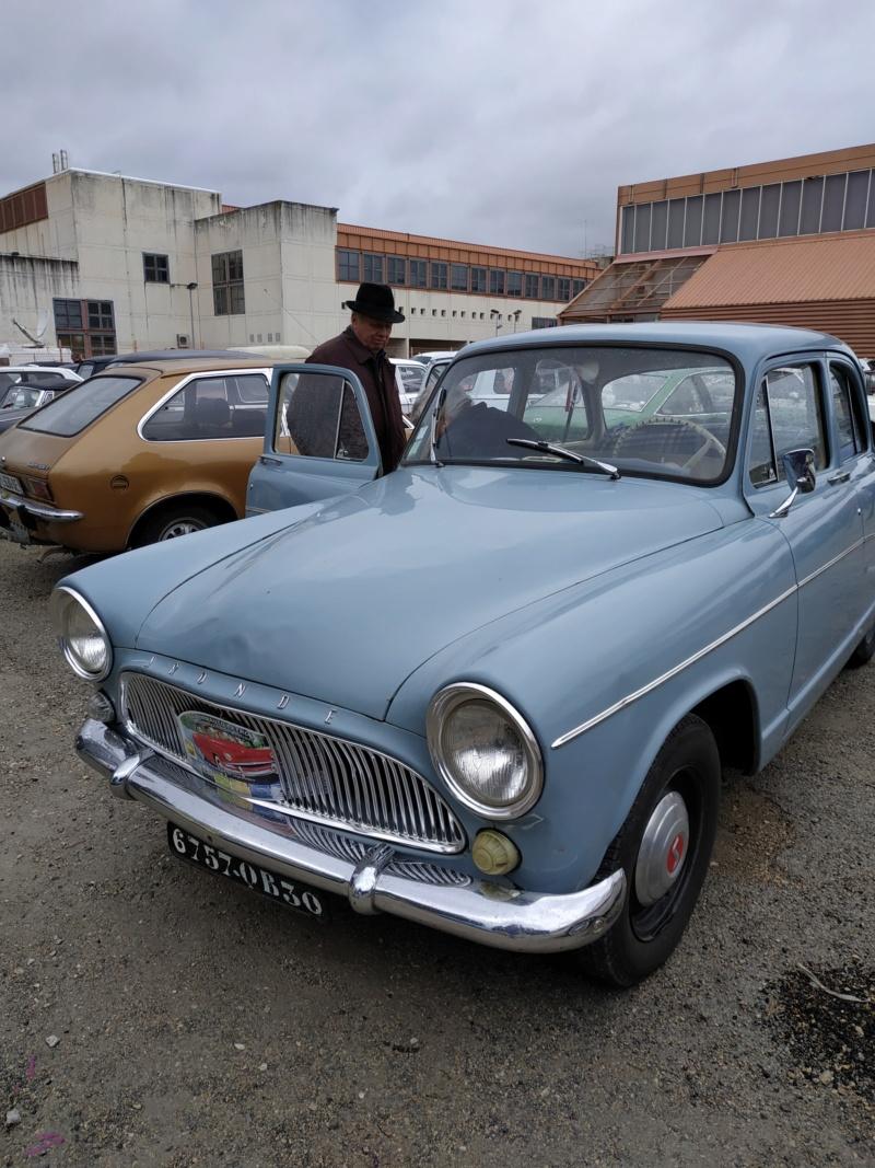 SALON AUTO MOTO RETRO de Nîmes  les 29/2 et 1/3 2020 - Page 2 Auto_183