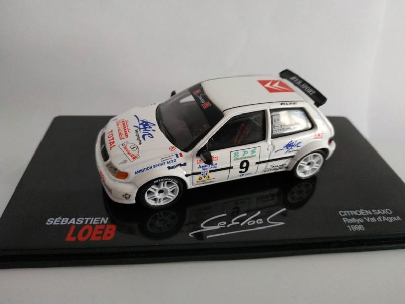 """2018 NOUVEAU > ALTAYA > """"Collection Sébastien Loeb"""" au 1/43  Conord11"""