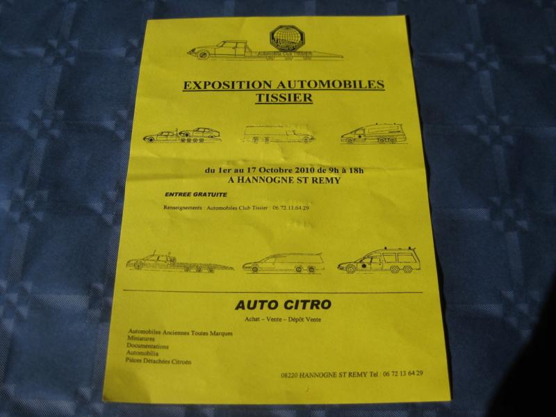 """Des Citroën hors normes : les """"Tissier"""" - Page 2 Expo_t10"""