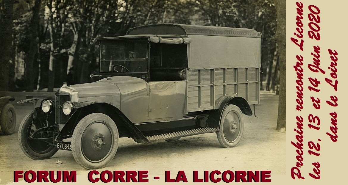CORRE-LA LICORNE automobiles