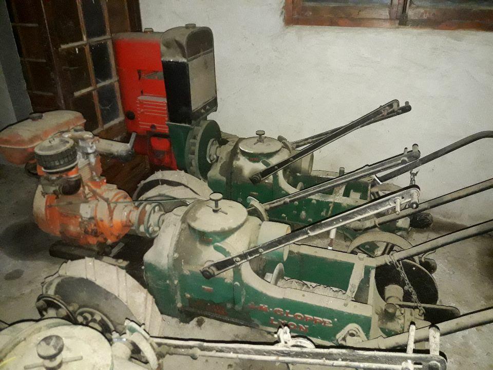 (vends) tracteurs et Gloppe(s) Gloppe16