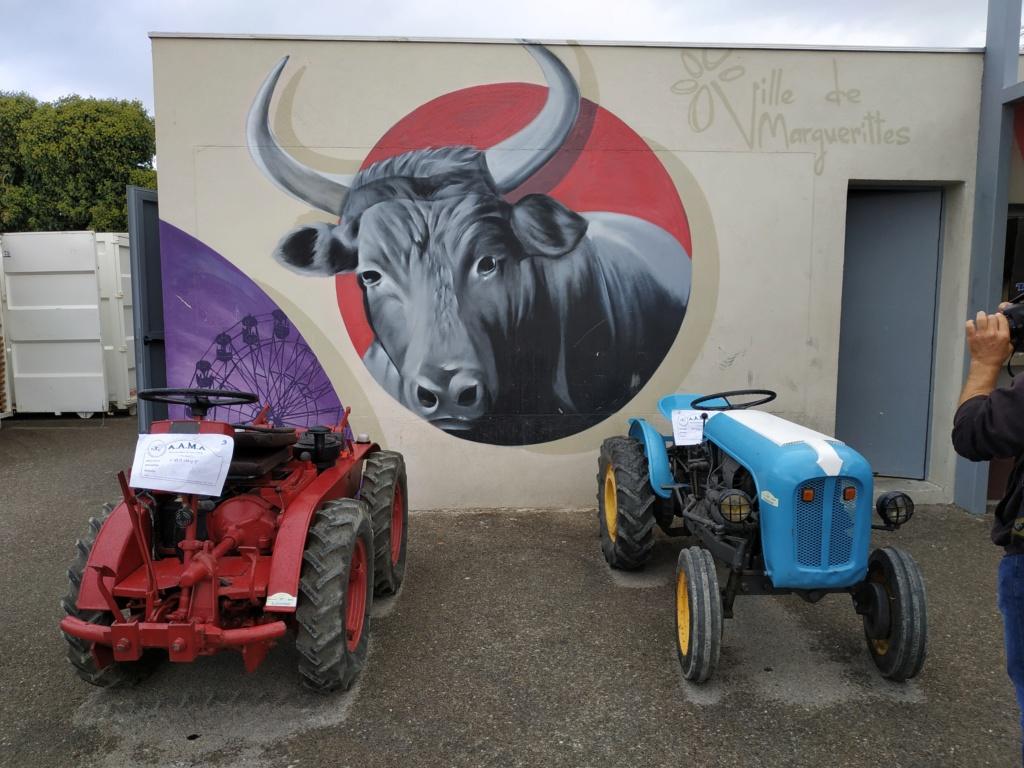 30 - Marguerittes  : rassemblement de véhicules anciens le 22 sept 2019 Margue12