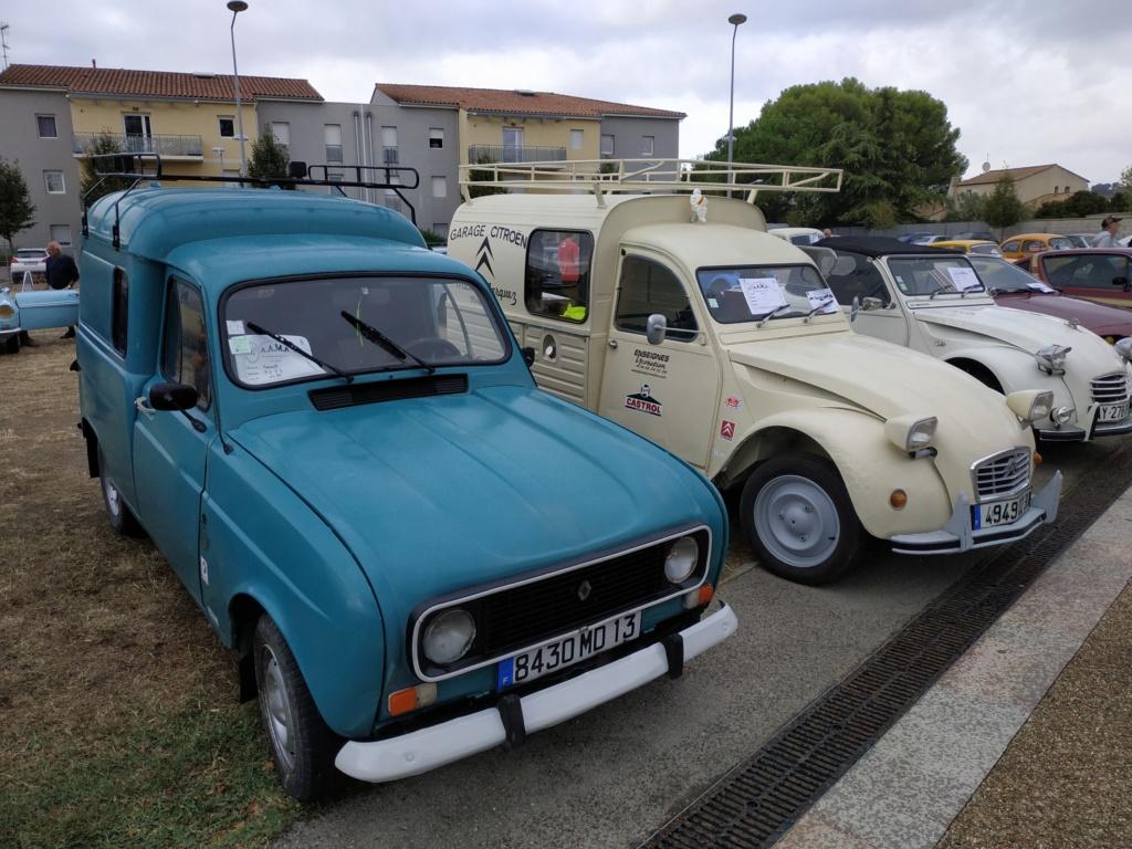 30 - Marguerittes  : rassemblement de véhicules anciens le 22 sept 2019 Margue18