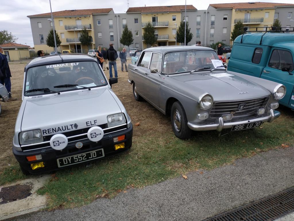 30 - Marguerittes  : rassemblement de véhicules anciens le 22 sept 2019 Margue19