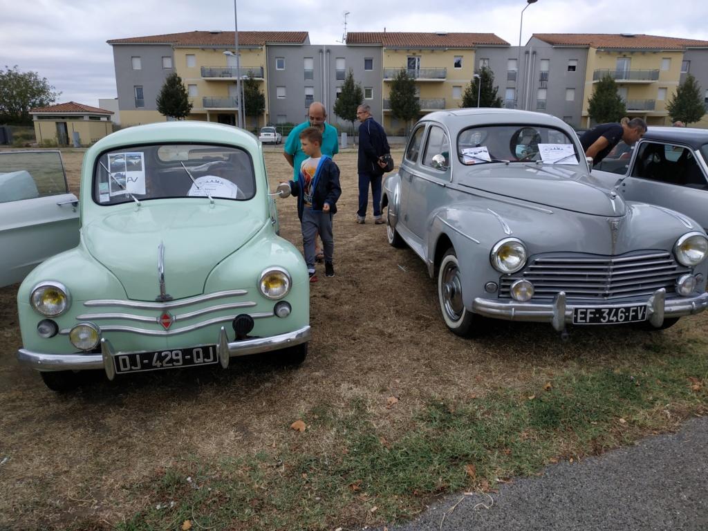 30 - Marguerittes  : rassemblement de véhicules anciens le 22 sept 2019 Margue20
